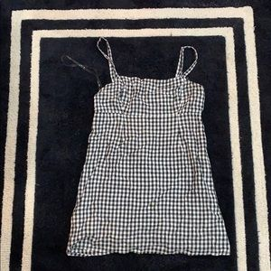 Summer gingham dress
